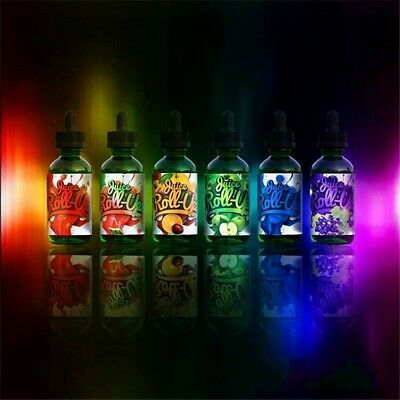 Juice Roll-Upz - Vape1 Juice - 60ml 30ml Shortfill - 3mg - Nic Shots US Seller