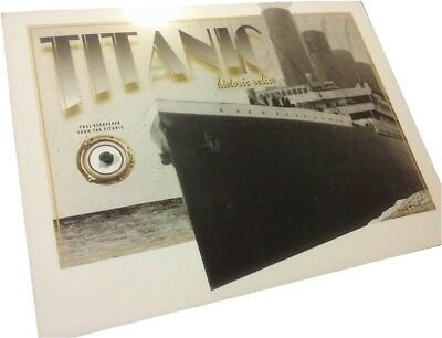 TITANIC COAL genuine relic artifact piece from the historic 1912 RMS wreckage