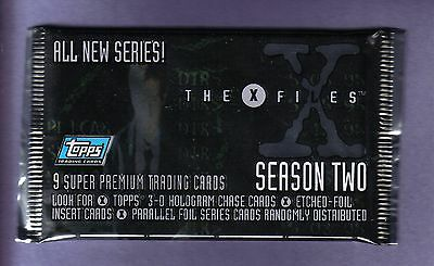 1996 Topps THE X-FILES Trading Card Pack From Box!