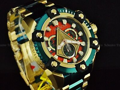 Invicta DC Comics Jason Momoa Aquaman GrandArsenal Ltd Ed Swiss Chrono TT Watch