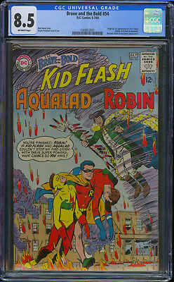 Brave and the Bold #54 CGC 8.5 First 1ST Appearance TEEN TITANS ROBIN KID FLASH