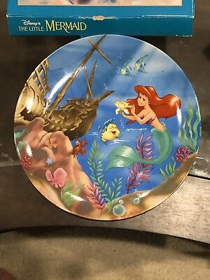 Rare Ariel Collectible Plate Disney Resort theme park The Little Mermaid