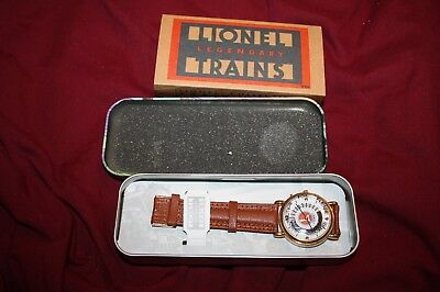 LIONEL 100 year commemerative anniversary watch, in box and sleeve,needs battery