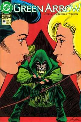 Green Arrow (1988 series) #76 in Near Mint minus condition. DC comics [*nk]