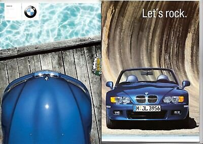 BMW Z3 -1,9, -2,2 -, 3,0 - Z3 Coupe 3,0  Prospekt Brochure  2002