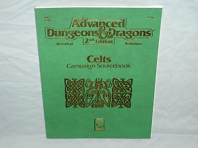 AD&D 2E Hisorical Reference - HR3 CELTS CAMPAIGN SOURCEBOOK (RARE and NR MINT!!)