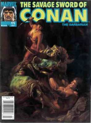 Savage Sword of Conan (1974 series) #175 in VF + condition. Marvel comics [*8v]