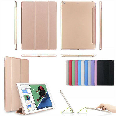 For iPad 6th Generation 2018 9.7 Slim Magnetic Leather Smart Cover Case ForApple