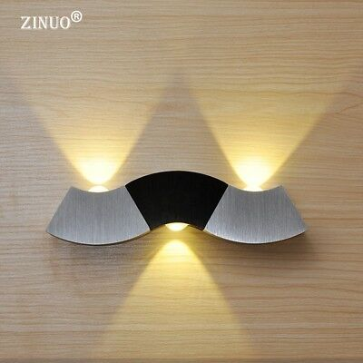 Modern 3LED Up and Down Wall Light Sconce Hall Porch Walkway Room Lamp Fixture