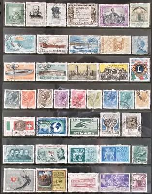 Selection of Used Stamps from Italy - see photo (33)