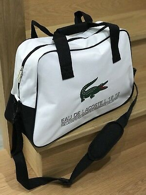 🆕LACOSTE MENS GYM TRAVEL OVERNIGHT BAG HOLDALL With Green Crocodile New 59b7d97abcf8e