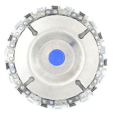 22 tooth grinder chain disc wood carving disc 4 inch for 100/115mm grinder  _H
