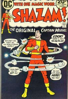 Shazam! (1973 series) #5 in Very Good + condition. DC comics [*hf]