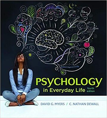 Psychology In Everyday Life 4th Edition By David G. Meyers eb00k