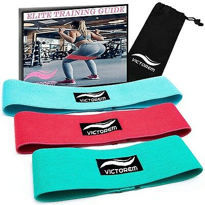 Victorem Booty Resistance Workout Hip Exercise Bands – Fitness Loop Circle