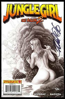 Jungle Girl Season 2 #4 Signed Frank Cho Risque Nude Variant Cover