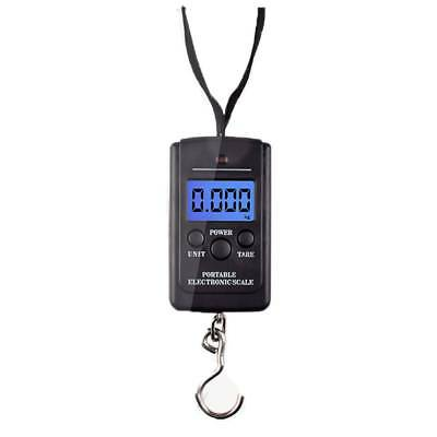 10g/40kg Electronic Digital Hook Scale Hanging Luggage Weight Balance Steelyard