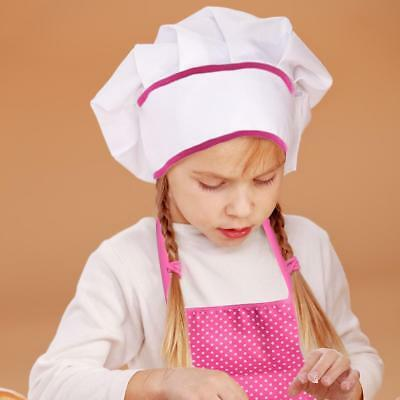 11pcs Kids Cooking And Baking Set Kitchen Costume Role Play Kits Apron Hat Cute