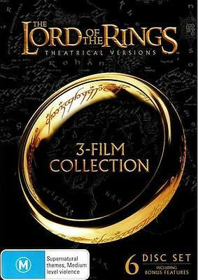Lord Of The Rings TRILOGY : NEW DVD