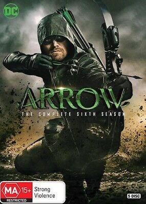ARROW : Season 6 : NEW DVD