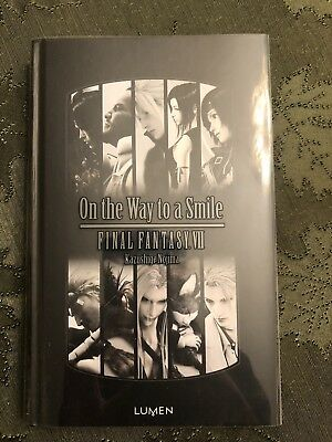 Final Fantasy VII Advent Children On the Way to a Smile HardCover Book In French
