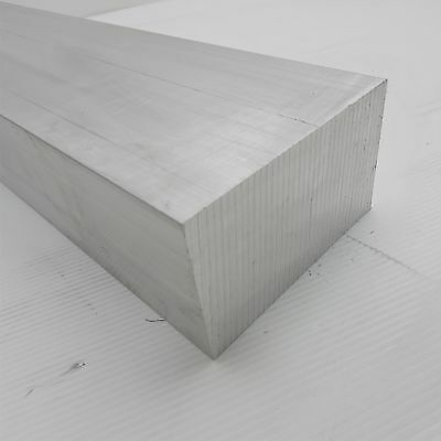 "3"" x 6"" Aluminum 6061 FLAT BAR 15.5"" Long new mill stock sku K126"