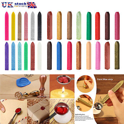 UK Traditional Wax Sealing Stick for Letters Stamp Seal Melting Candle Envelope