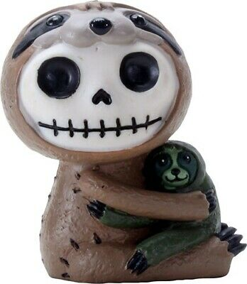 Furrybones Brady Figurine Sloth Skeleton Skull Gothic Cute Fun Different Gift