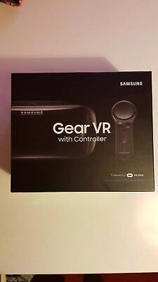 Samsung SM-R324NZAABTU Galaxy Gear VR Headset with Controller - Black