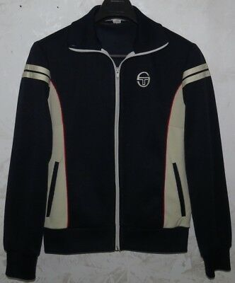Giacca Jacket Jersey Track Suit Tennis Tacchini Italy Sport Vintage Sz.46 Casual