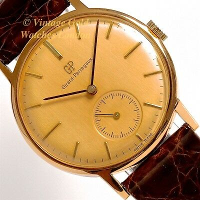 Girard-Perregaux Cal.03 Classic, 18Ct, 1948, Oversize - Stunning And Immaculate!