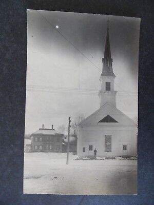 RP Williamstown Vermont Methodist Church 1909 Postcard