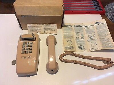 Vintage Pink Western Electric Bell System Telephone working tested