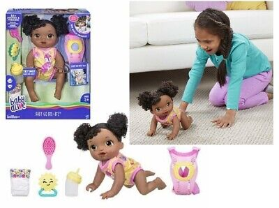 Baby Alive Go Bye-Bye Doll,  African American ~ Brand New