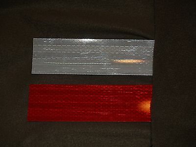 3M Red/white Conspicuity Reflective Tape