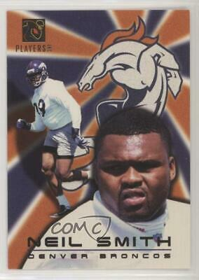 1997 NFL Players Party (Stay Cool in School) Neil Smith (Collector's Edge) Card