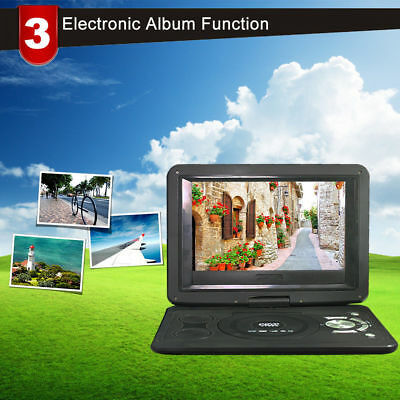 Portable Mobile DVD EVD player 13.9 inch HD Player With TV Function Kids Games