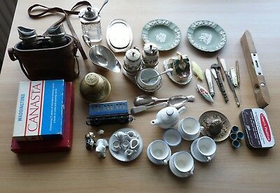 JOB LOT of Mixed Vintage and Antique Collectable items.