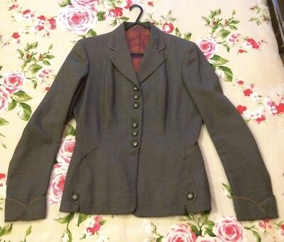 Vintage Ladies Worsted Jacket 1950s 1960s To fit UK Size 12 Beautiful Condition