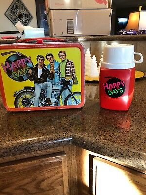 Happy Days 1976 Lunchbox With Thermos