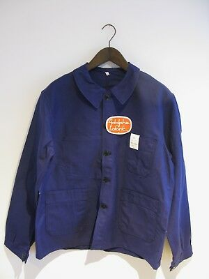BRAND NEW OLD STOCK Vintage French Workwear Chore Jacket 52 Adolphe Lafont 42""