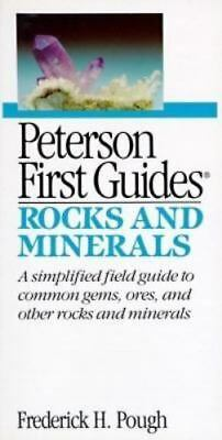 Rocks and Minerals (Peterson First Guides), Pough, Frederick.H., Good Book