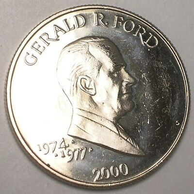 2000 Liberia Liberian 5 Dollars Gerald R. Ford Coin/Token Prooflike