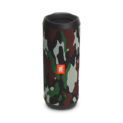 JBL Flip 4 Waterproof Bluetooth Speaker (Camo). Authorized Dealer!