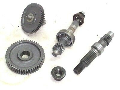Tank Transmission Drive Axle Gears 2006 Urban 50 Chinese Scooter TK50 QT-5 Moped