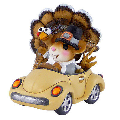 Wee Forest Folk M-454d Honk for Thanksgiving!