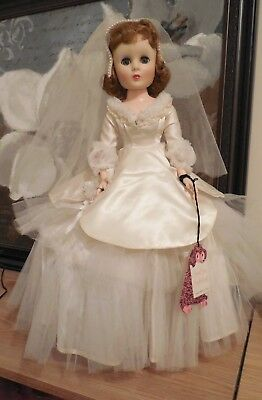 "Vintage Sweet Sue Sophisticate Toni American Character 20"" Bride Doll 1950s"