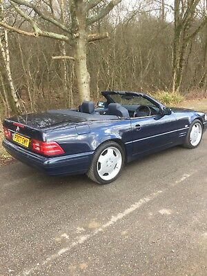Mercedes Benz Sl280 102K Dark Blue Navy Leather Fsh Mot July 2019 Hardtop Lovely