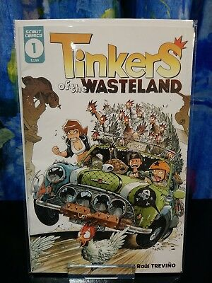 Tinkers of the Wasteland #1, Scout Comics, 1st Print, NM