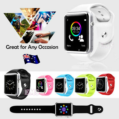 A1 Bluetooth Smart Wrist Watch Phone For Android Samsung HTC Oppo Huawei